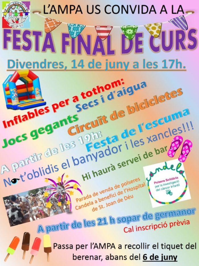 Festa de final de Curs!!!!!